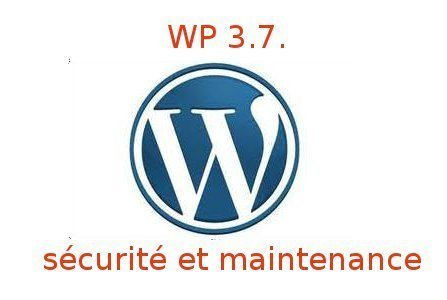 WordPress version 3.7